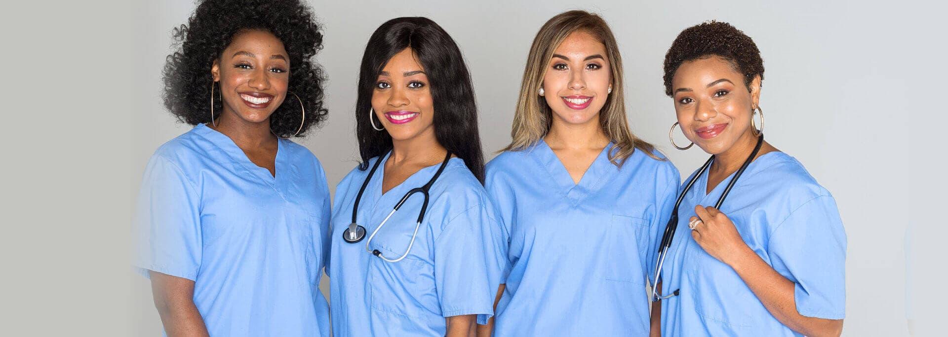 four lady nurse